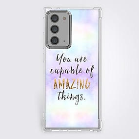 cheap Samsung Case-Quotes & Sayings Phone Case For Samsung Galaxy S21 Galaxy S21 Plus Galaxy S21 Ultra Unique Design Protective Phone Case Shockproof Back Cover
