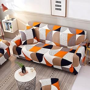 povoljno -navlaka za kauč višebojni / neutralni tiskani poliesterski navlaci