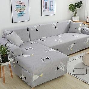 halpa -sohvan päällinen sohvan päällinen huonekalun suoja painettu pehmeä joustava sohva slipcover super joustava kansi sopii nojatuoli / rakastaa istuin / kolmipaikkainen / nelipaikkainen / l muotoinen