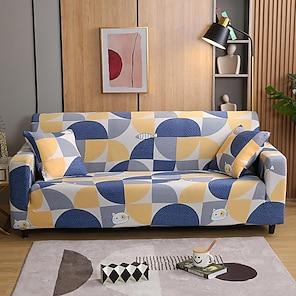 baratos -Capa de sofa Floral Fios Tingidos / Estampado Poliéster Capas de Sofa