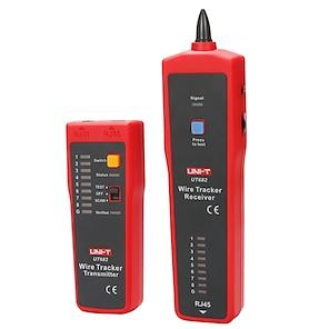 billige -uni-t ut682 wire tracker; telefonlinje / netværkslinje / strømkabelfinder, kommunikationslinjetester
