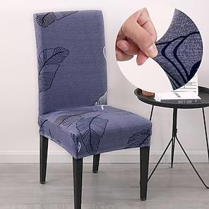 povoljno -pero navlaka za stolice za blagovaonicu presvlake za stolice za ispis mandale visoke naslone za dnevnu zabavu vjenčanje božićni ukras