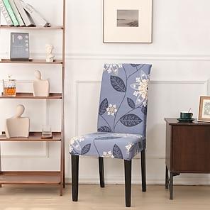 رخيصةأون -2021 جديد مرونة عالية طباعة الموضة أربعة مواسم قماش ناعم للغاية ريترو رائجة البيع غطاء غبار غطاء مقعد غطاء كرسي غطاء كرسي 45 * 45 * 55 (10)