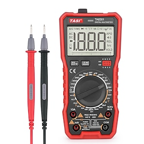 cheap -TASI TA8301 Digital Multimeter With Voice Broadcasting Function Profesional Ture RMS AC DC NCV Smart Multimetro Voltage Tester
