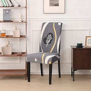 billige -nordic enkel stil husholdning elastisk cne-piece stol sett integrert spisebord stol sett fire sesonger