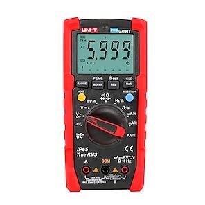billiga -uni-t tester digital multimeter profesional ut191t ut191e true rms auto range dmm 20a ammeter 600v count 6000 dc ac kondensator