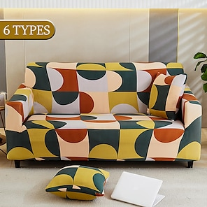 billiga -elastiska soffa slipcovers modernt sofföverdrag för vardagsrum sofföverdrag sektionellt hörn l-formigt stolskydd sofföverdrag 1/2/3/4 sits (1 st gratis skicka ett örngott)