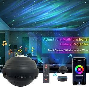 abordables -projecteur star smart wifi projecteur galaxy veilleuse fonctionne avec alexa& Projecteur de lumière d'étoile d'océan de minuterie de musique de bluetooth d'assistant de google avec la