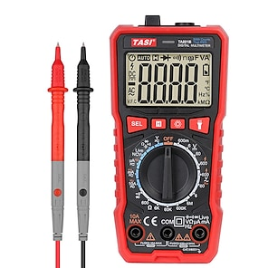 halpa -tasi ta801a/b/c/d digitaalinen yleismittari mini smart ture rms ac dc ncv auto range digitaaliset yleismittarit testeri ohm hz jännitemittari
