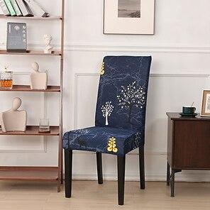 tanie -Nordic prosty styl gospodarstwa domowego elastyczny cne-piece zestaw krzeseł zintegrowany stół do jadalni zestaw krzeseł cztery pory roku
