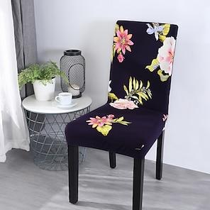olcso -2021 új nagy rugalmasságú divat nyomtatás négy évszak univerzális szuper puha szövet retro forró eladó porvédő üléshuzat székhuzat szék huzat 45*45*55 (10)