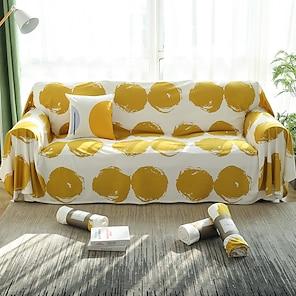 billige -sofa teppe geometrisk reaktivt trykk ull flanell slipcovers