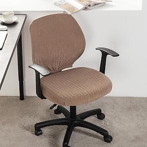 tanie -2021 nowy druk mody o wysokiej elastyczności cztery pory roku uniwersalna super miękka tkanina retro gorąca sprzedaż osłona przeciwpyłowa pokrowiec na siedzenie komputer pokrowiec na krzesło biurowe