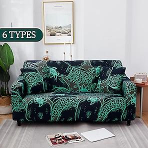 povoljno -elastični navlake za kauč moderna navlaka za kauč za dnevnu sobu navlaka za kauč presječni kut u obliku slova L štitnik za stolicu navlaka za kauč 1/2/3/4 sjedala (1kom besplatno pošaljite jastučnicu)