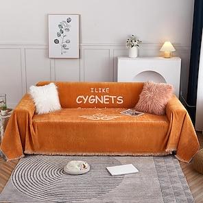 Недорогие -чехлы легкие роскошные утолщенные синель полотенце для дивана / чехол для дивана чехлы на диван для собак защита для дивана / подходит для дивана-подушки 1-4 и дивана l-образной формы легко установить