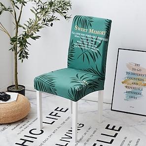 halpa -2021 uusi erittäin joustava muotipainatus neljä vuodenaikaa universaali superpehmeä kangas retro kuuma myynti pölysuoja istuinsuojus tuolin päällinen tuolin kansi 45*45*55 (10)