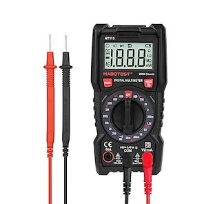 tanie -habotest ht113 600v multimetr cyfrowy multitester ac dc voltage current 10a ohm tester tranzystorów multitester professional
