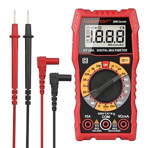 billiga -multimtre ht108 digital multimeter esr mätare ac dc spänningsström ohm fordonselektronikverktyg dmm 2000 counts