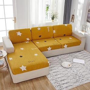 billige -stretch sofa sædepudebetræk slipcover elastisk sofa lænestol loveeat 4 eller 3 personers tegneserie høj elasticitet fire sæsoner universal super blødt stof retro hot salg