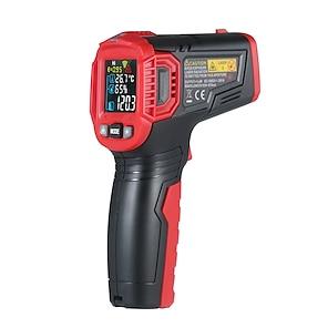 Χαμηλού Κόστους -habotest βιομηχανικό ψηφιακό υπέρυθρο θερμόμετρο μετρητή θερμοκρασίας μετρητή μη-επαφής IR πυρόμετρο λέιζερ LCD θερμόμετρο οθόνης