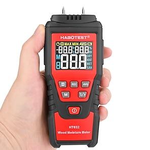 levne -habotest 0-99,9% digitální vlhkoměr na dřevo tester vlhkosti dřeva vlhkoměr dřevo vlhký papír tester cementového detektoru cementu