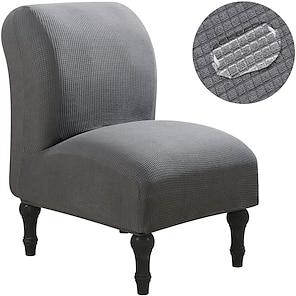 ieftine -Huse pentru scaune fără brațe Huse pentru scaune hidrofuge Huse pentru canapele extensibile Huse de protecție pentru mobilier detașabile pentru hotel acasă