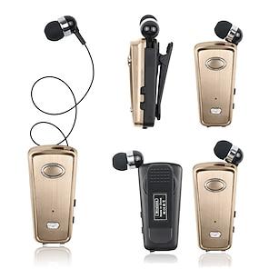 billige -akz-q1 kraveklip bluetooth headset bluetooth5.0 ergonomisk design, der kan trækkes ud med volumenkontrol til apple samsung huawei xiaomi mi hverdagsbrug udendørs jogging mobiltelefon