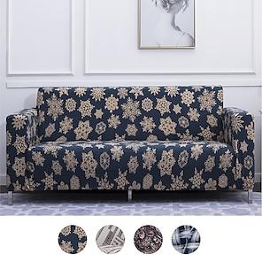 رخيصةأون -غطاء أريكة قابل للتمدد يغطي الأريكة المطبوعة أغطية الأريكة واقي أثاث عالمي مرن
