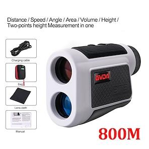 billiga -gvda gd800a teleskop laser avståndsmätare 6x laser avståndsmätare måttband 800m avståndsmätare för golf jakt sport