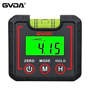 billiga -gvda digital vinkelmätare lutningsmätare 360 hög precision goniometer elektronisk nivå lådvinkelmätare magnet tilt mätverktyg