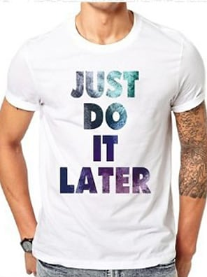 cheap Men's Tops-Men's Unisex T shirt Shirt Hot Stamping Letter Plus Size Print Short Sleeve Daily Tops 100% Cotton Basic Casual Round Neck Blue Purple / Summer