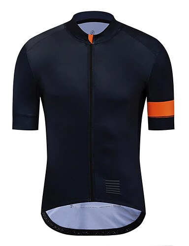 cheap Sports & Outdoors-21Grams Men's Short Sleeve Cycling Jersey Black Bike Jersey Mountain Bike MTB Road Bike Cycling Breathable Sports Clothing Apparel / Athletic
