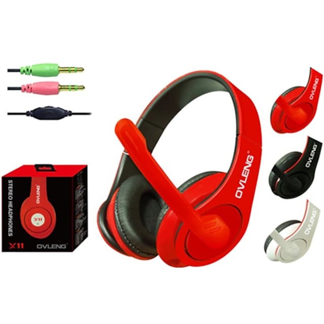 OVLENG X11 Headphones with Mic for PC