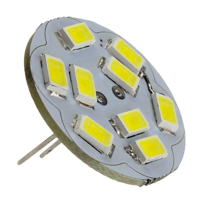 2 W Spoturi LED 6000 lm G4 9 LED-uri de margele SMD 5730 Alb Natural 12 V