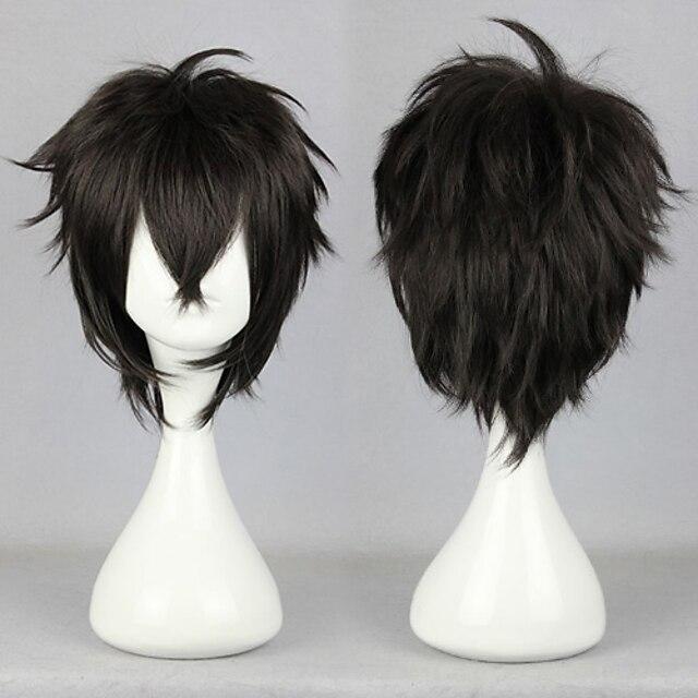 Inspireret af KARNEVAL Shigaraki Tomura Anime Cosplay Kostumer Japansk Cosplay Parykker Parykker Til Unisex Drenge Pige