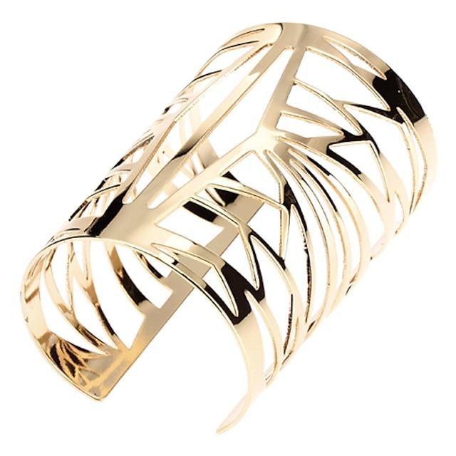 Dame Manchetarmbånd Vintage Armbånd Damer Unikt design Mode Dubai Syntetiske ædelstene Armbånd Smykker Gylden Til Afslappet
