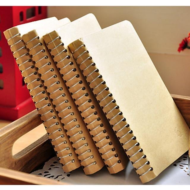 Eenvoudige Hele Gekleurde Notepad