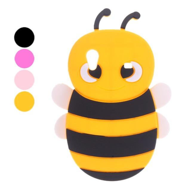 3D تصميم النحل نمط حالة ميسرة لسامسونج غالاكسي الآس S5830