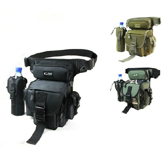 Fishing Tackle Bag Waist Bag Multi-Functional Waterproof Quick Dry Polyester Oxford