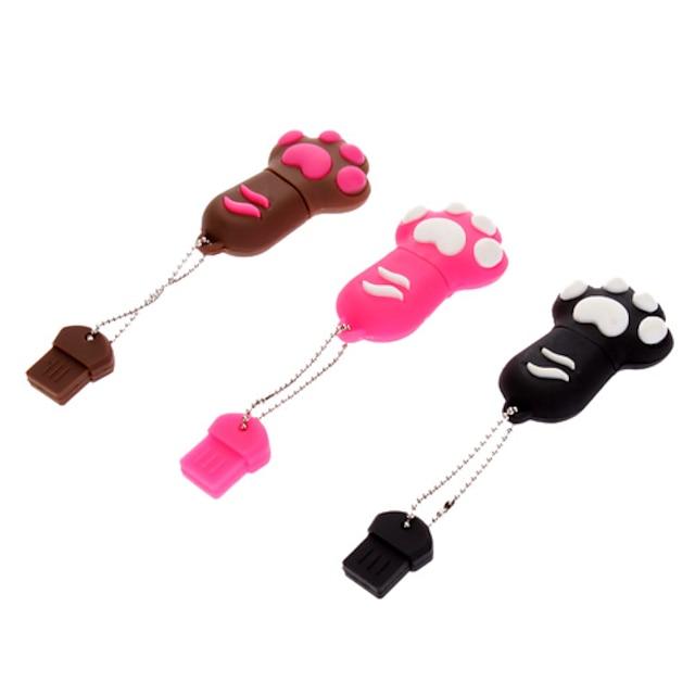 8GB Cute Dog Paw Gummi USB Flash Drive