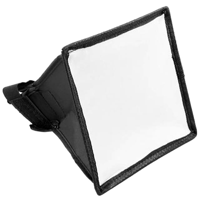 15x17cm Portable Flash Softbox Dyfuzor Nikon lampa błyskowa dla Canon