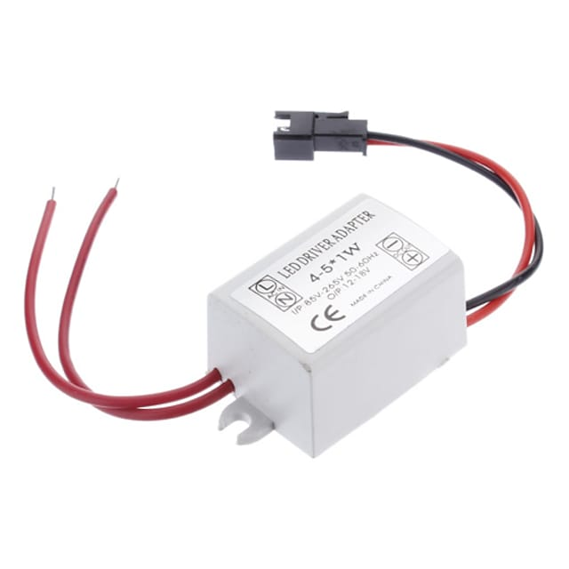 0.3A 4-5W DC 12-16V to AC 85-265V LED Lamp External Ceiling Lamp Ceiling Lamp Constant Current Power Driver