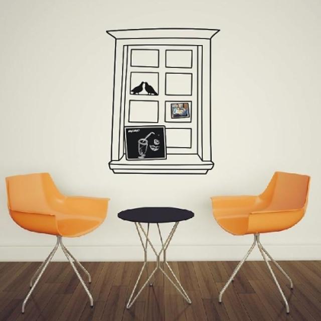 Тем не менее Окно Life Frame декоративные настенные наклейки