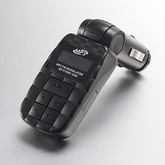 4in1 206 Channels In-car Mp3 Player Fm Transmitter