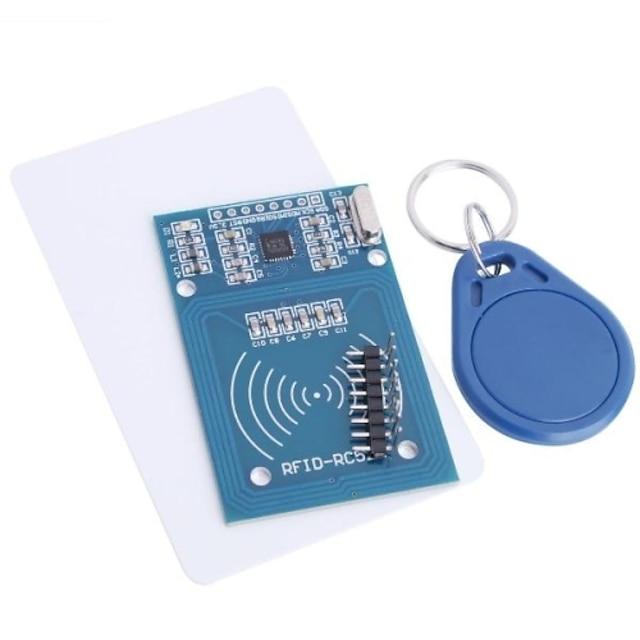 rfid-rc522 rfid модуль rc522 комплекты s50 13.56 mhz 6cm с тегами spi write& читать для малины pi