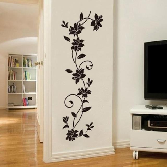 Arabesc Acțibilde de Perete Sufragerie, Pre-lipiți Vinil Pagina de decorare Decalcomanie de perete
