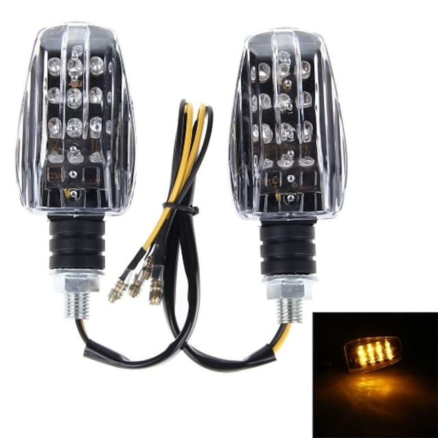 12V 150LM D43 Motorcycle Accessories Modified Univeral LED Turn Signal