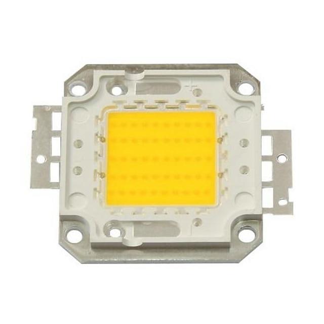zdm diy 50w 4500-5500lm cald alb 3000-3500k lumină modul integrat led (dc33-35v 1.5a) lampă stradală pentru proiectarea sudură de aur ușor de sârmă de suport de cupru