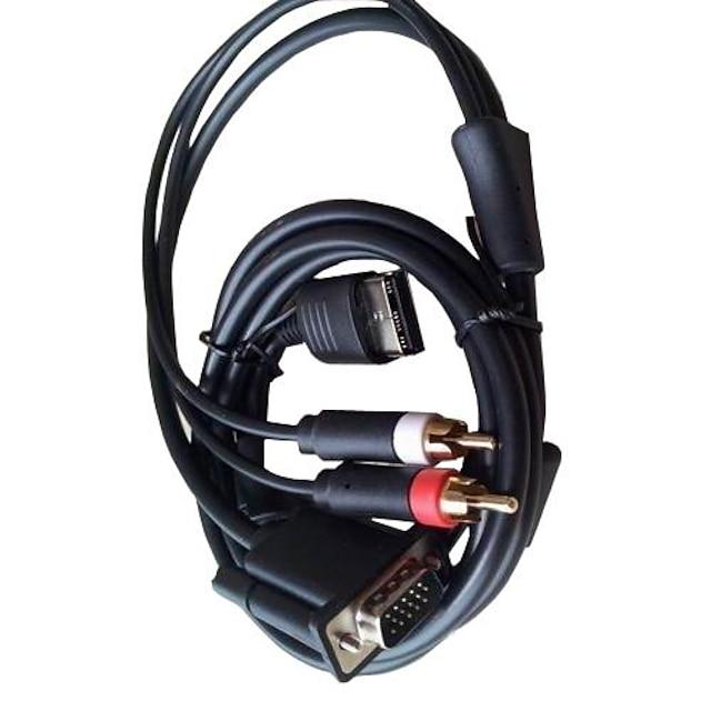 VGA visoke razlučivosti kabel RCA zvuk adapter PAL NTSC za Dreamcast konzole