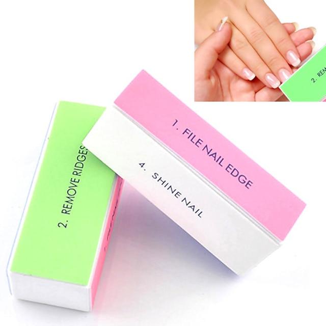 1pc Silikon Spikermanikyrverktøy Glat Glitter 4 måter Daglig Diecut Manicure Stencil til Fingernegl Tånegl